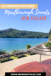 another pinterest image of this article on accommodation in marlborough sounds