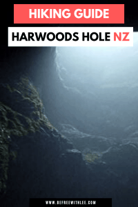 A pinterest image of this harwoods hole article