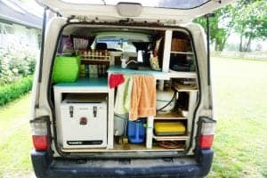 a photo of my van that is not self contained