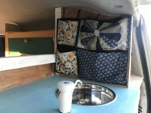 example of a sink for a self contained van