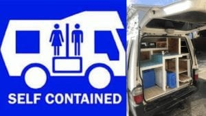 self contained van nz