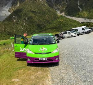 A photo of Jucy one of the companies offering Cheap New Zealand campervan hire