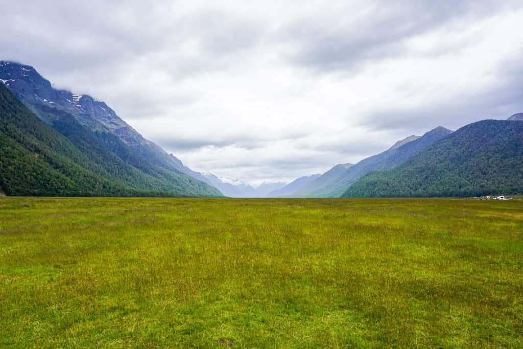 Eglington Valley is one of the best stops from queenstown to milford sound