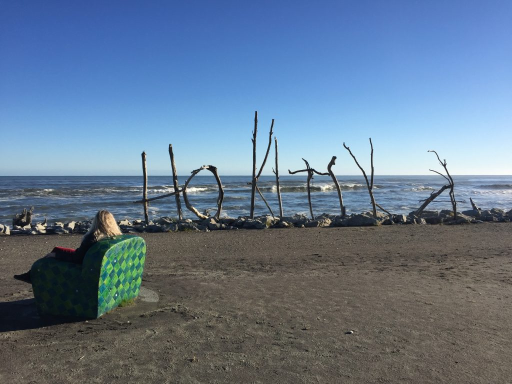 a photo of hokitika beach an iconic spot to stop by on the west coast