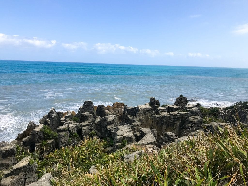 a stunning photo of punakaiki one of the best things to do in the west coast!