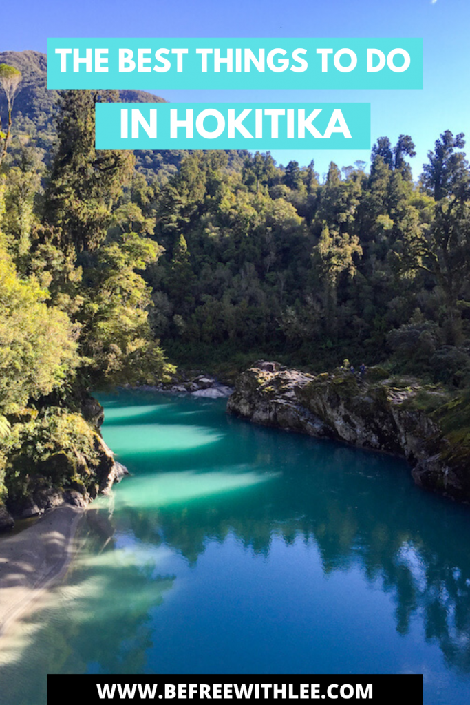 another pinterest image of this article on the best things to do in Hokitika