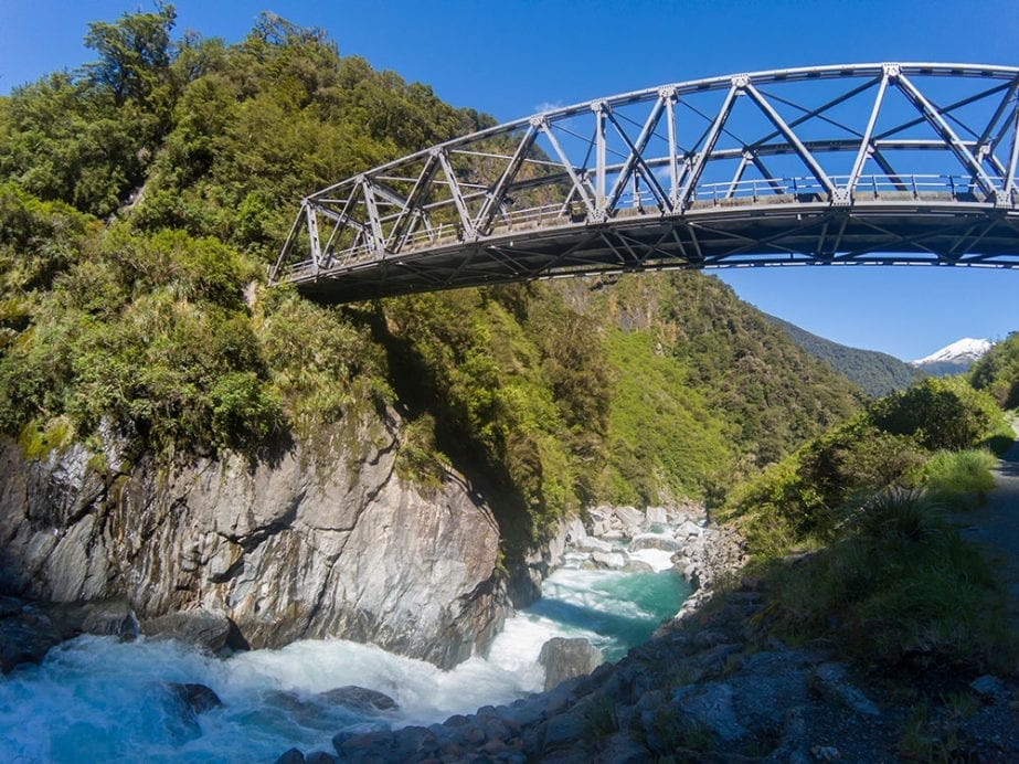 a stunning photo of Haast Pass