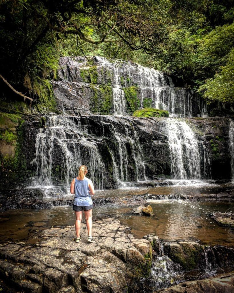 a beautiful photo of purakanui falls in the catlins one of the best things to do in southland new zealand