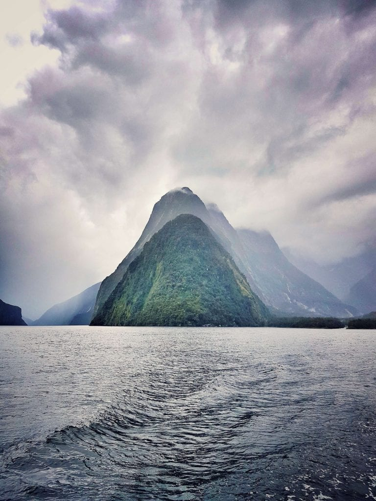 a beautiful photo of milford sound in the southland region