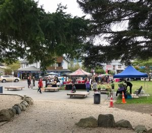 a photo of saturday market in hanmer springs