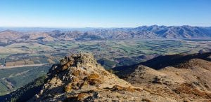 a photo from the top of Mt Isobel