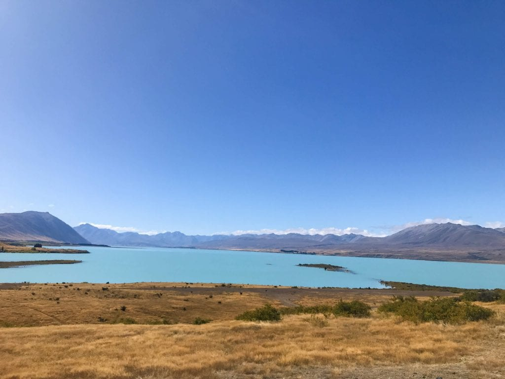 a photo from the peninsula walk a awesome option when looking for what to do in lake tekapo