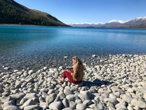 a photo at lake tekapo which is an awesome place to go when looking for what to do in lake tekapo
