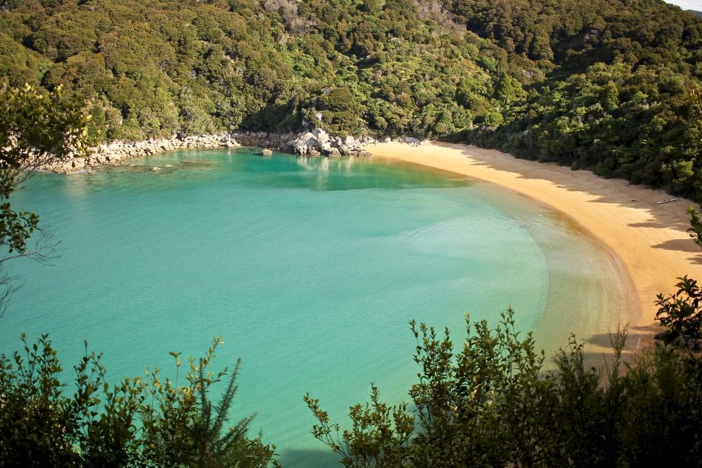 a stunning photo of te pukatea bay one of the best abel tasman beaches