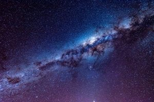 what to do in lake tekapo? try star gazing! This is a photo of the stars you can see above tekapo