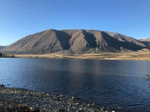 photo of lake camp in the canterbury region new zealand