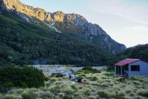 camping in arthurs pass in the canterbury region new zealand