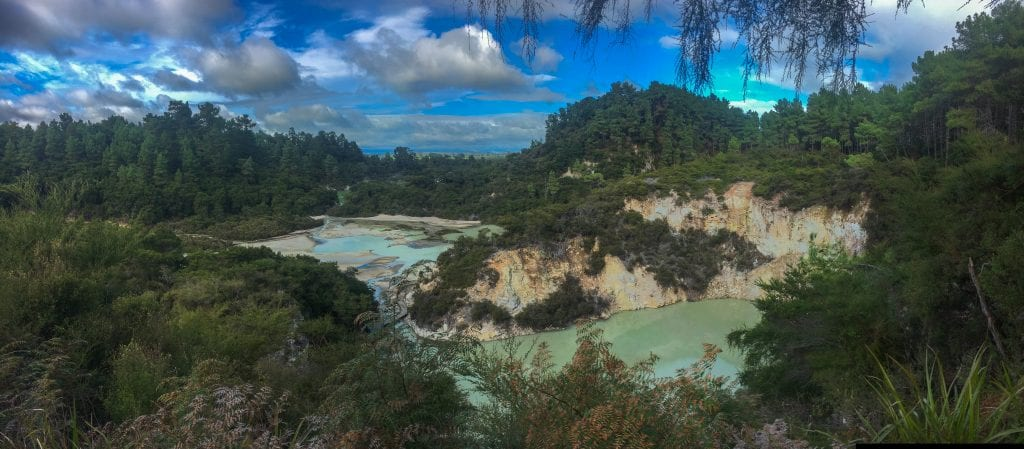 rotorua is definitely worth travelling to while exploring New Zealand in a campervan!