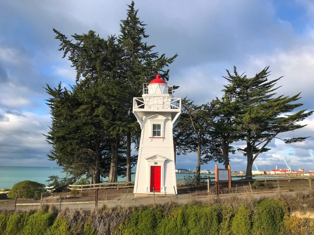 an iconic photo of a lighthouse one of the best things to do in Timaru