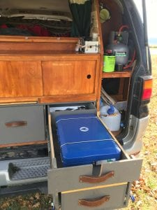 building a van like my brother with a slide out kitchen