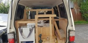 building a van kitchen photo inspiration