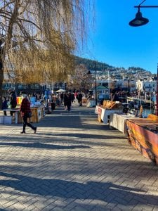Queenstown markets are one of the best things to do in Queenstown on a saturday