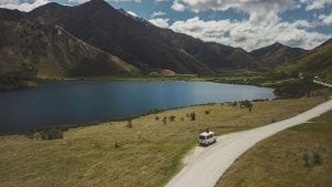 A view from Moke Lake one of the best things to do in Queenstown