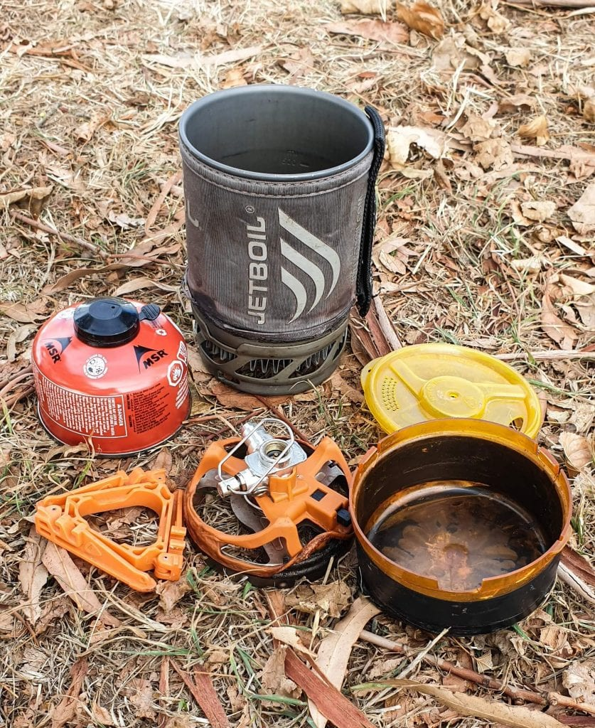 jet boil is a tramping gear essential I can not live without!