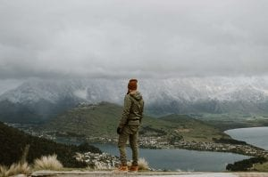 Looking down on Queenstown one of the best places and things to do in Otago