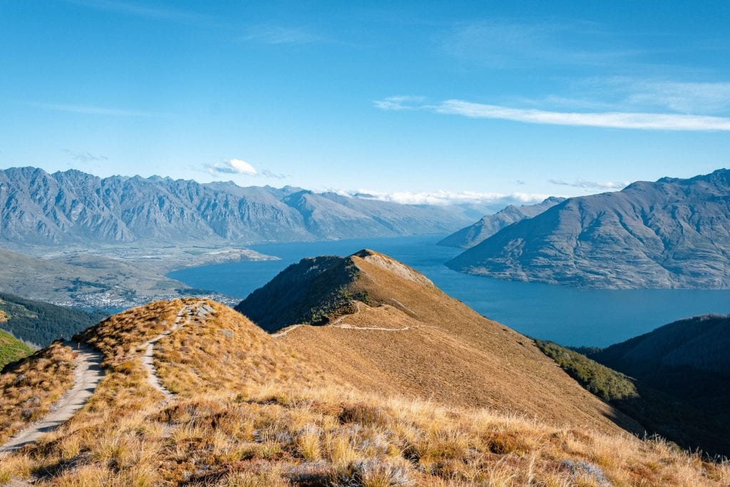 A picture from Ben Lomond Track one of the best things to do in Queenstown