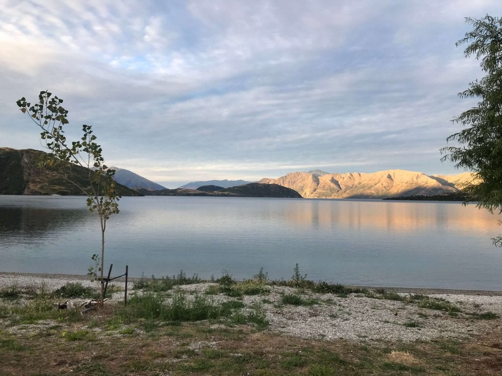 one of the best free things to do in wanaka is taking a trip to glendhu bay