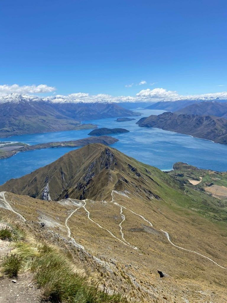one of my favourite free things to do in wanaka is the roys peak walk
